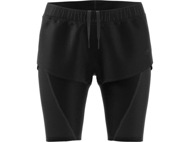 adidas 2In1 Shortsit Naiset, black